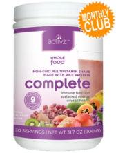 Activz™ Complete Multivitamin Shake Monthly Club