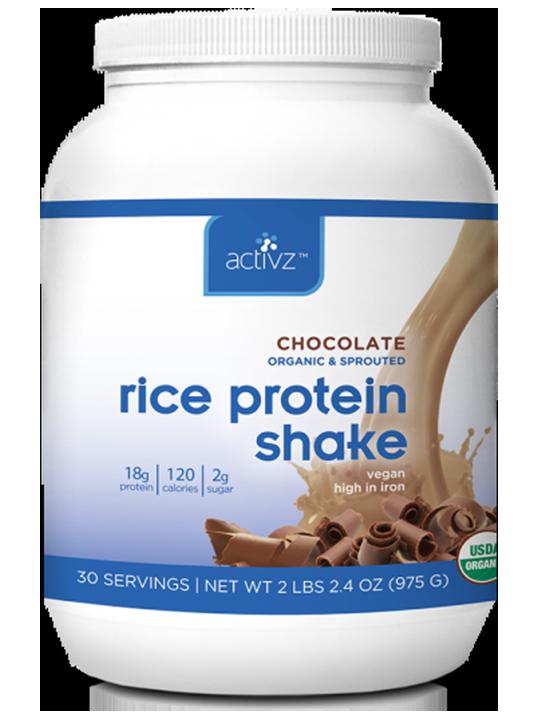 Activz™ Chocolate Rice Protein Shake