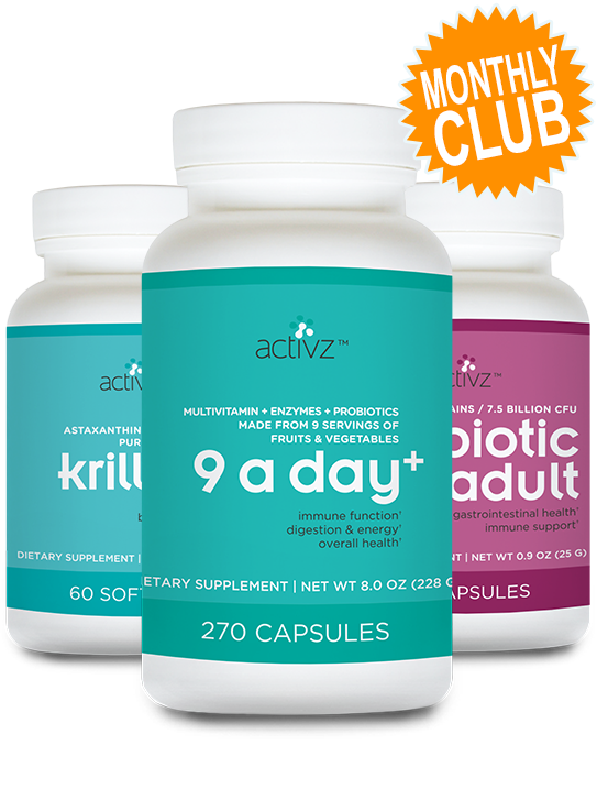 Basic Health Monthly Club - 9 A Day +
