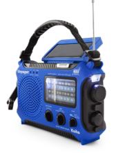 Kaito KA500L 4-Way Powered Emergency Radio - Side