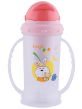 Pink Toddler Bottle