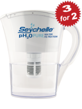 3 for 2 pH2O Water Pitcher