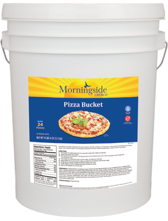 Pizza Bucket (6 Gallon)
