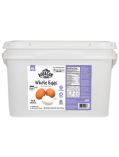 Dried Whole Eggs Bucket (2 Gallon)