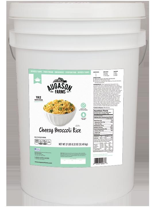 Cheesy Broccoli Rice - 6 Gallon