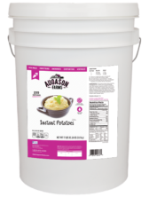 Augason Farms Instant Potatoes - 6 Gallon