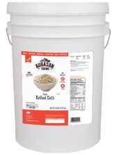 Regular Rolled Oats - 6 Gallon