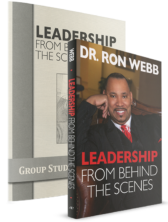Leadership From Behind The Scenes Book and Workbook
