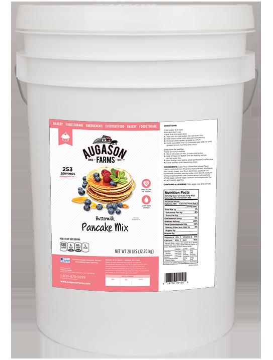 Buttermilk Pancake Mix - 6 Gallon