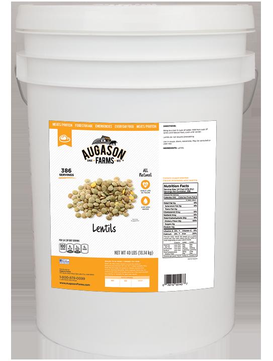 Lentils (6 Gallon)