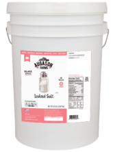 Iodized Salt (6 Gallon)
