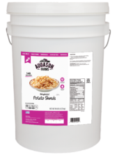 Augason Farms Potato Shreds (6 Gallon)