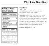 Chicken Bouillon Nutritional Information