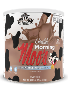 Augason Farms® Chocolate Morning Moo's Low Fat Milk #10 Can