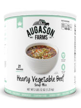 Augason Farms® Hearty Vegetable Beef Soup Mix #10 Can