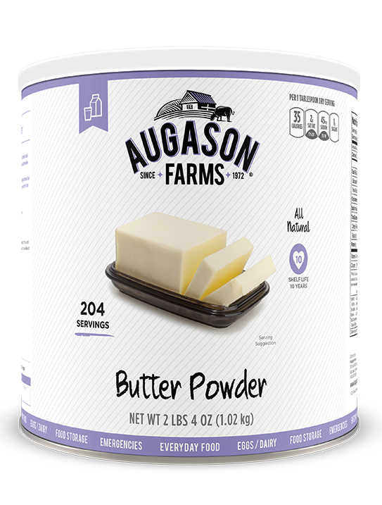 Augason Farms® Butter Powder #10 Can