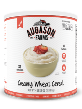 Augason Farms® Creamy Wheat Cereal #10 Can