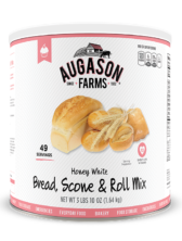 Augason Farms® Honey White Bread & Roll Mix #10 Can