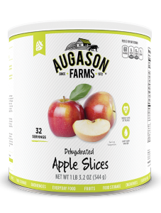 Augason Farms® Dehydrated Apple Slices #10 Can