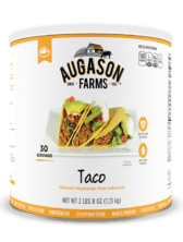 Augason Farms® Taco Flavored Vegetarian Meat Substitute #10 Can