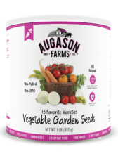 #10 Can Vegetable Garden Seeds