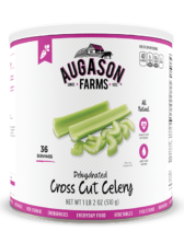 Augason Farms® Dehydrated Cross Cut Celery #10 Can