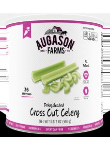 Augason Farms® Dehydrated Cross Cut Celery #10 Can
