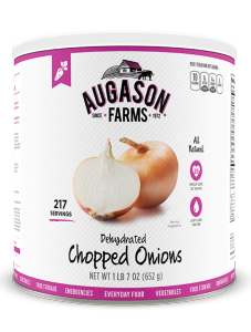 Augason Farms® Dehydrated Chopped Onions #10 Can