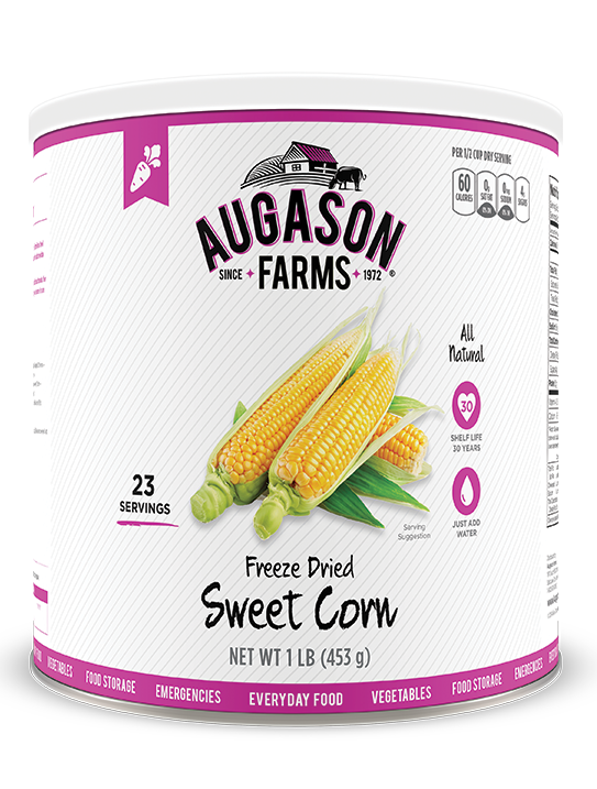 Augason Farms® Freeze Dried Sweet Corn #10 Can