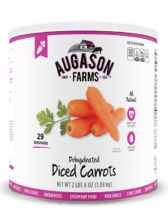 Augason Farms® Dehydrated Diced Carrots #10 Can