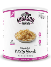 Augason Farms® Dehydrated Potato Shreds #10 Can