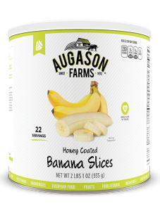 Augason Farms® Honey Coated Banana Slices #10 Can