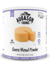 Augason Farms® Cheese Blend Powder #10 Can