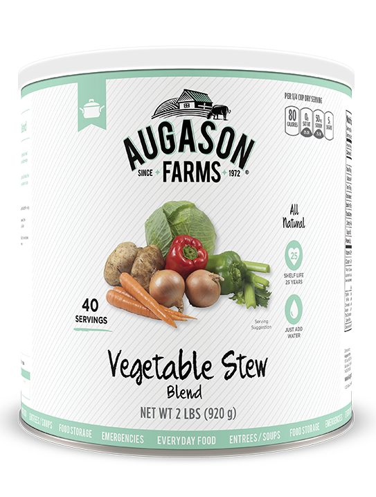 Augason Farms® Vegetable Stew Blend #10 Can