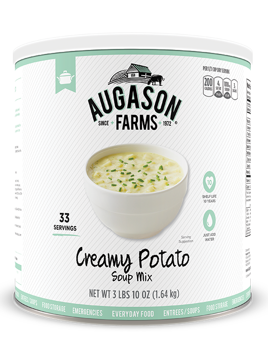 Augason Farms® Creamy Potato Soup #10 Can