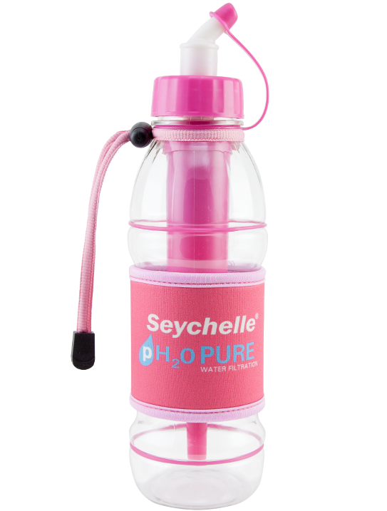 Seychelle® pH2O Sport Bottle - Pink