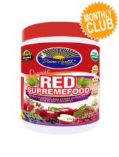 Divine Health® Organic Red Supremefood Monthly Club