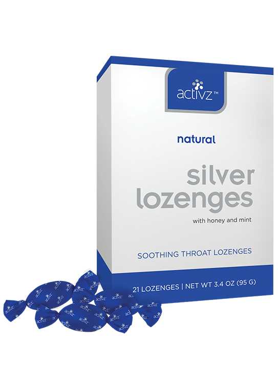 Activz™ Silver Lozenges