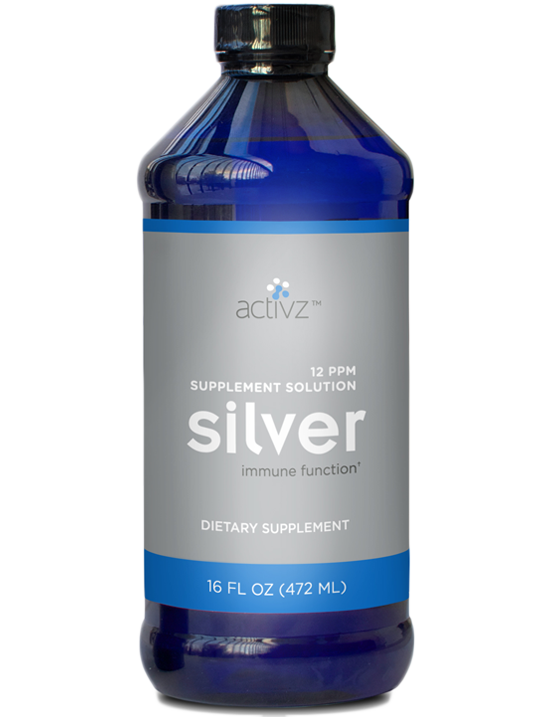 16 oz. Activz™ Silver Solution Liquid