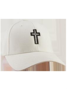 Cross Hat (Beige)