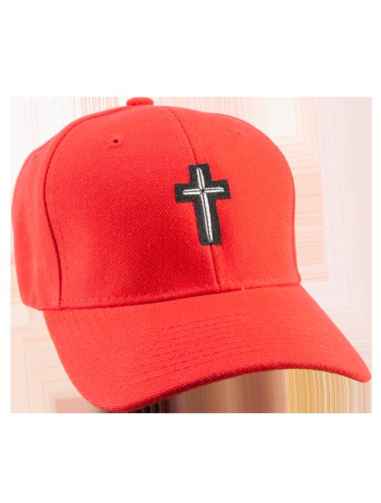 Cross Hat (Red)