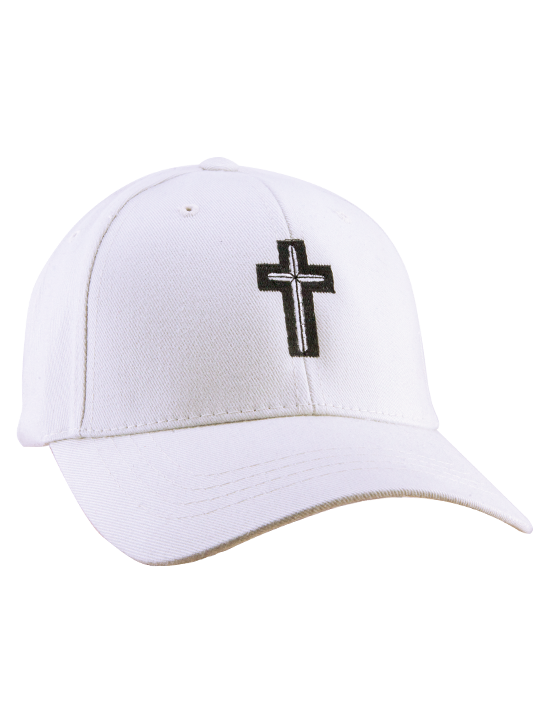 Cross Hat (White)