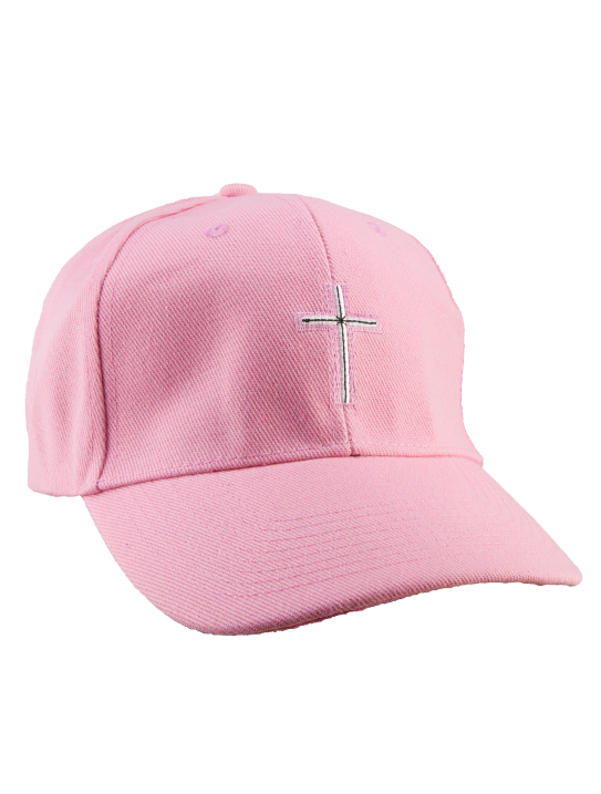 Cross Hat (Pink)
