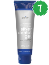 Pack of 7 Activz Silver Dental Gel