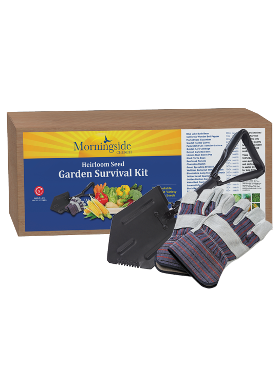 Heirloom Seed Garden Survival Kit