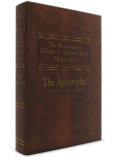 The Researcher's Library of Ancient Texts - Volume I: The Apocrypha