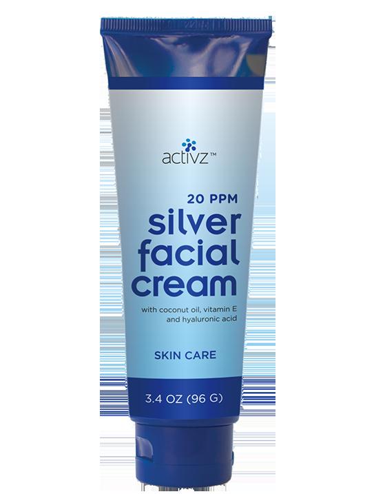 Activz™ Silver Facial Cream