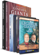 Legends Giants & More; True Legends DVD; The Book of Joel; The Second Coming: A Second Look; Genesis 6 Giants; and True Legends