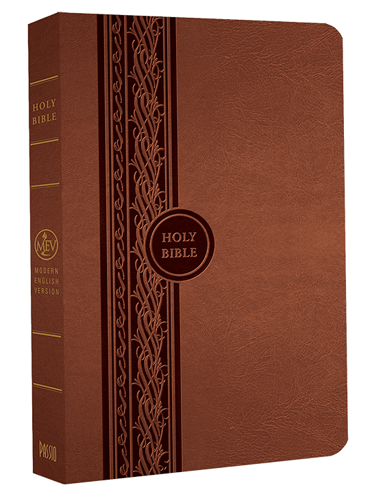 MEV Thinline Reference Bible - Brown