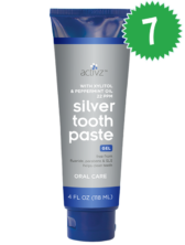 Pack of 7 Activz™ Silver Toothpaste Gels
